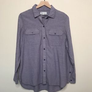 Madewell Collared Button Down Shirt Size M